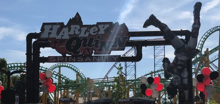 Harley Quinn Spinsanity Entrance