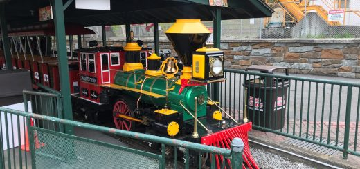 Storytown Train Engine in the Station