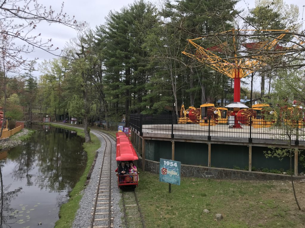 Storytown Train with Screamin' Eagles