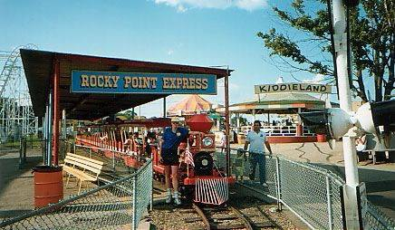 Rocky Point Express Train Ride