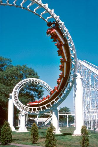 Corkscrew Loop Coaster 3
