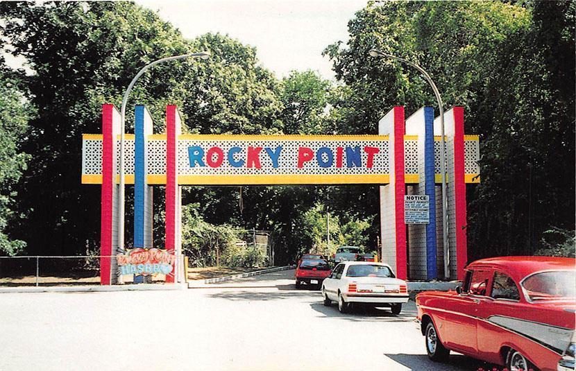 Entrance To Rocky Point Park