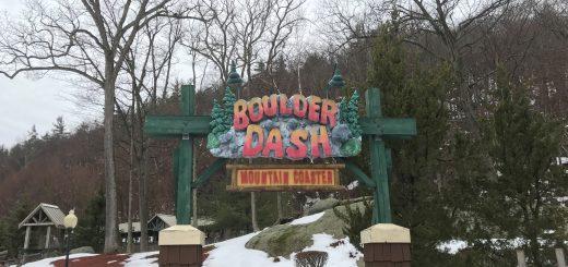 Boulder Dash Queue Entrance