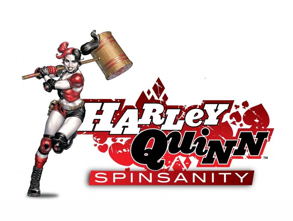 Harley Quinn Spinsanity Logo