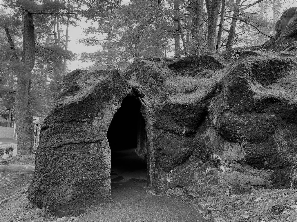 Ghost Town Cave Entrance