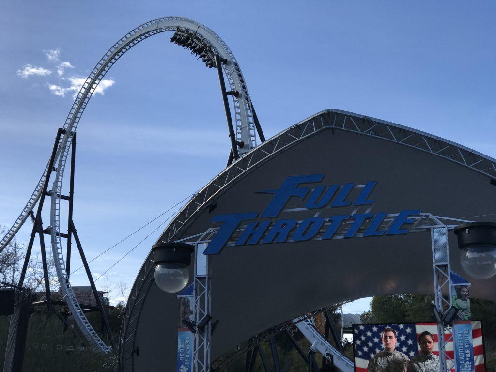 Full Throttle Queue Entrance