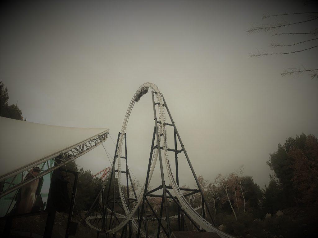 Full Throttle aka YOLO Coaster Vertical Hang Time