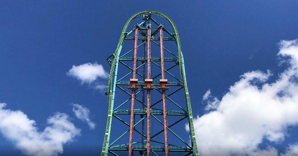 Zumanjaro: Drop of Doom Climbing Tower